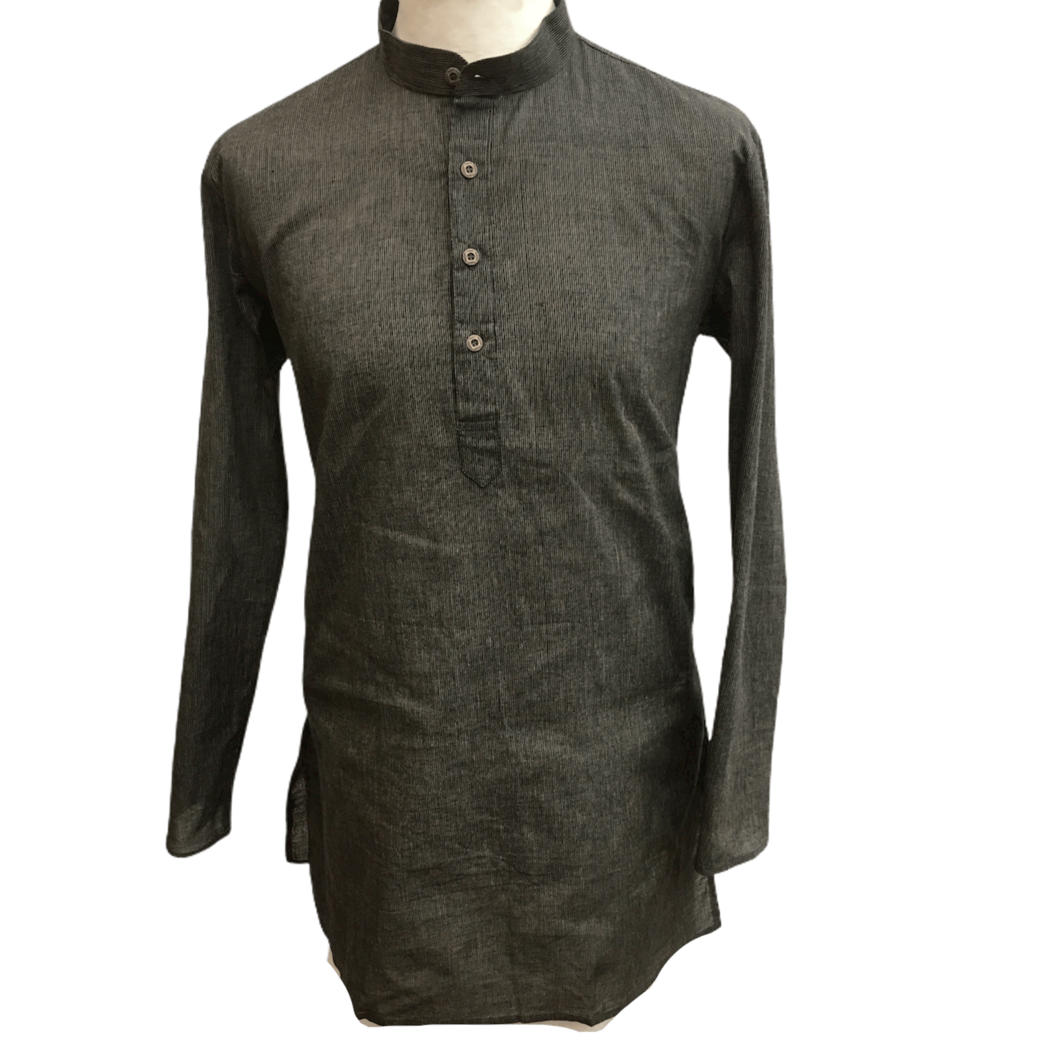 Mens Indian Dhoti Kurta Top in Brown, Thigh Length, for weddings, Bollywood Party  - Alamgir R1219 - Prachy Creations