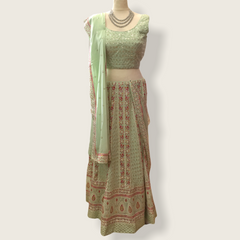 Karisma - Pastel Shaded Ladies Lehnga Set - AF2101TP 0521