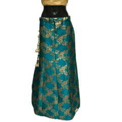 Jade Green Benarasi Handloom Brocade Lehnga Skirt only  - Mix N Match - DCB1918 KV11119 - Prachy Creations
