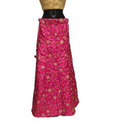 Fully Embroidered Lehnga Skirt only  - Mix N Match - DCB1945 KP 0120 - Prachy Creations