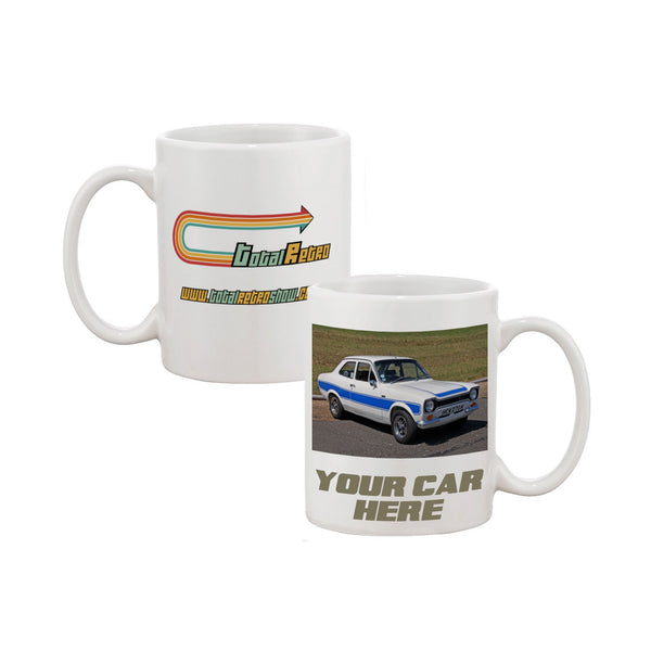 Total Retro Personalised Printed Mug