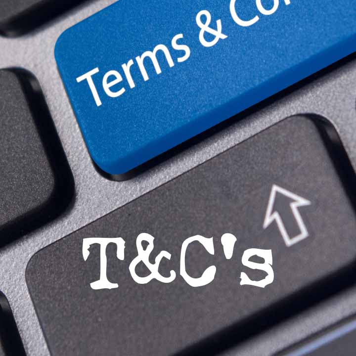T&C's - Terms and Conditions from Yorkshire Fabric