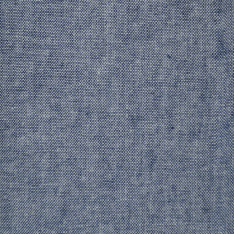 Medium Blue Chambray Cotton Shirting
