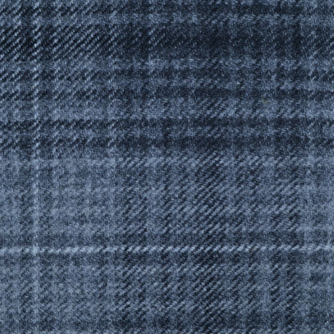 Light Grey & Dark Grey Multi Check Tweed