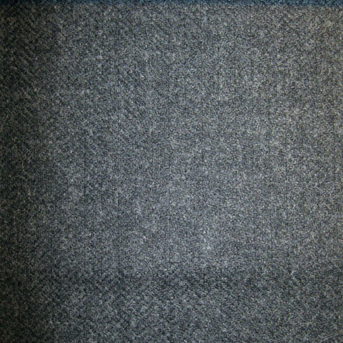 Medium Grey Herringbone Tweed