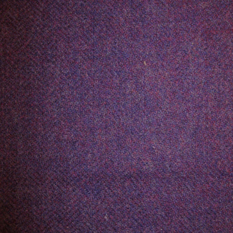 Purple Herringbone Tweed