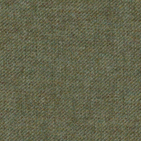 Moss Green & Brown Tweed