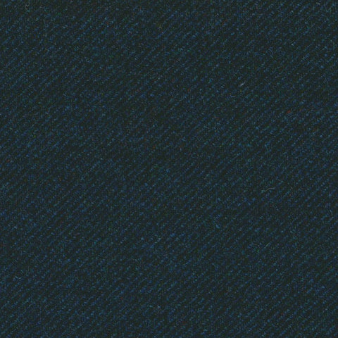 Dark Navy Blue Tweed