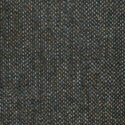 Green, Brown & Beige Speckled Tweed