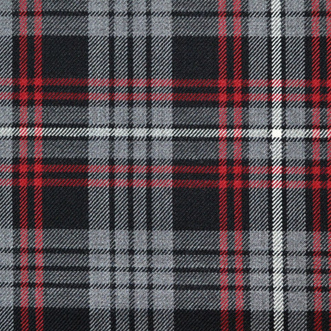 Light Grey Glen Check Linen