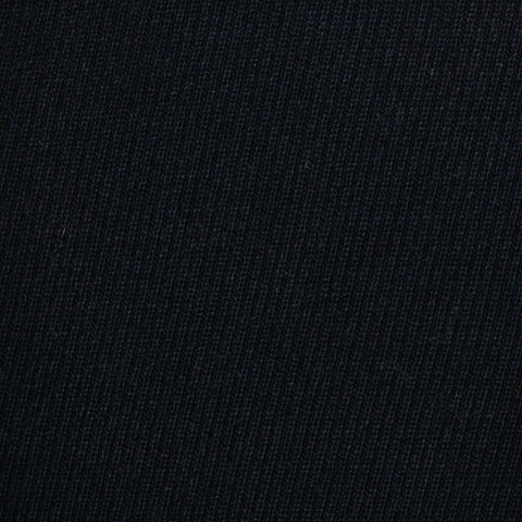 Black Cavalry Twill Wool Suiting