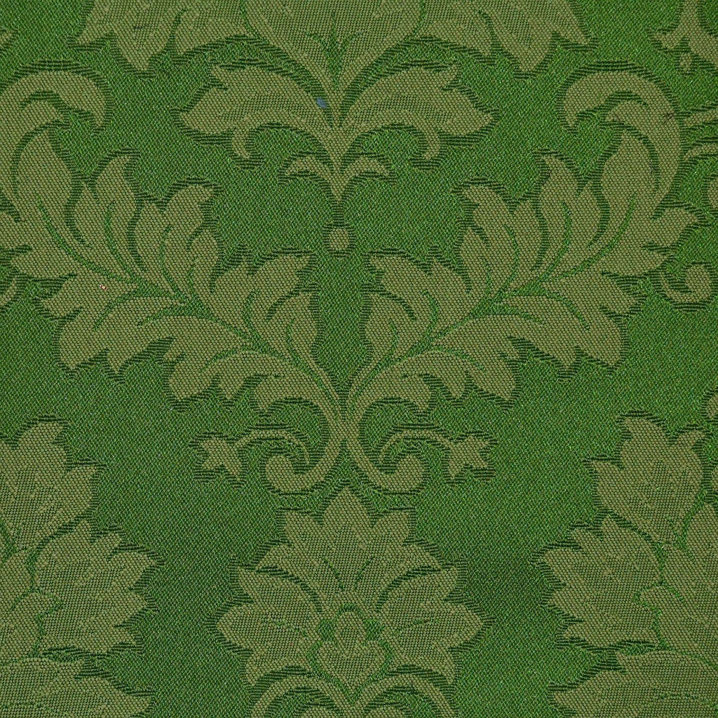 Green Damask Jacquard Jacketing