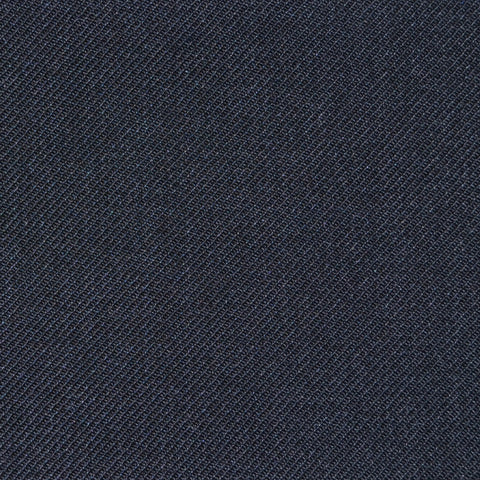 Charcoal Grey Twill Super 100's Wool Blend Suiting