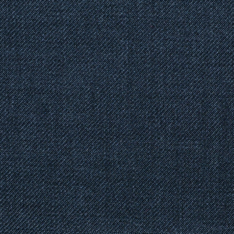 Dark Grey Twill Super 100's Wool Blend Suiting