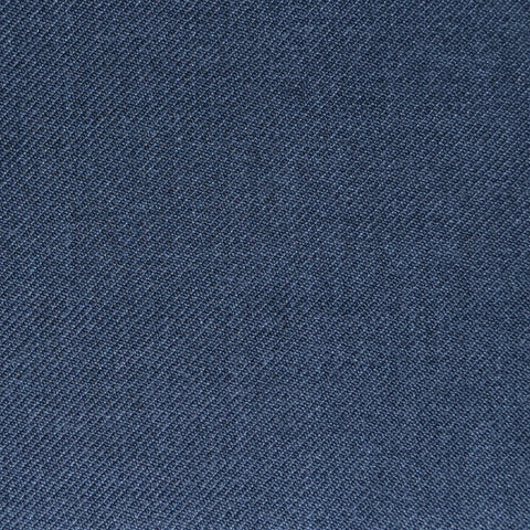 Medium Grey Twill Super 100's Wool Blend Suiting
