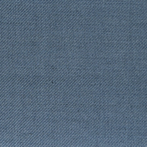 School Grey Twill Super 100's Wool Blend Suiting