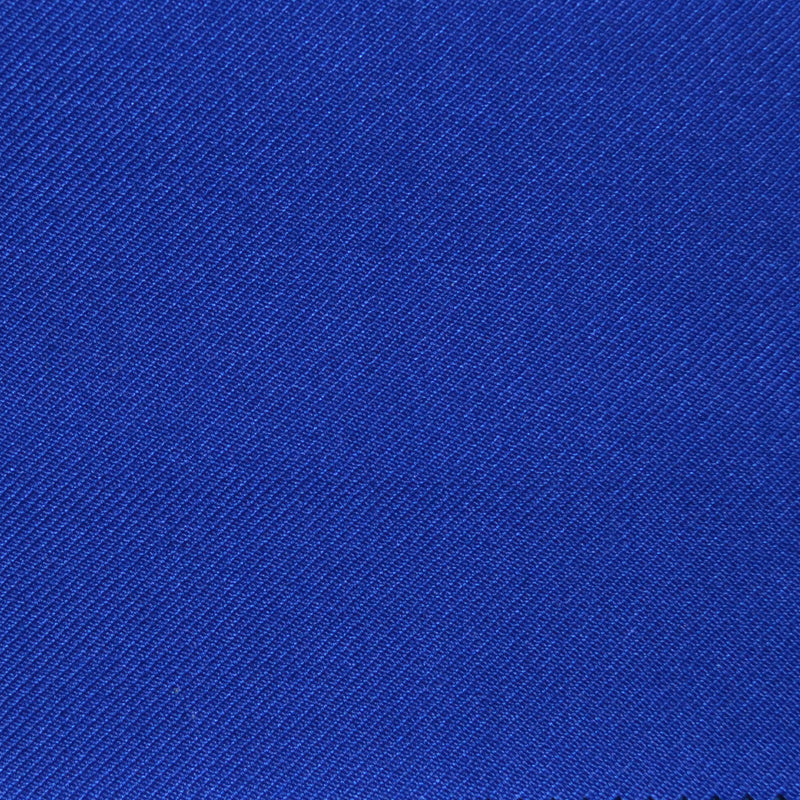 Indigo Blue Twill Super 100's Wool Blend Suiting