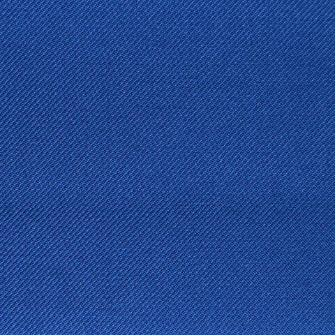 Medium Blue Twill Super 100's Wool Blend Suiting