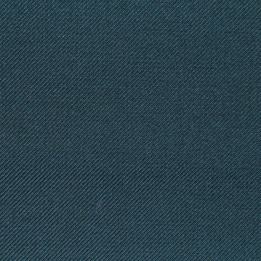 Pine Green Twill Super 100's Wool Blend Suiting
