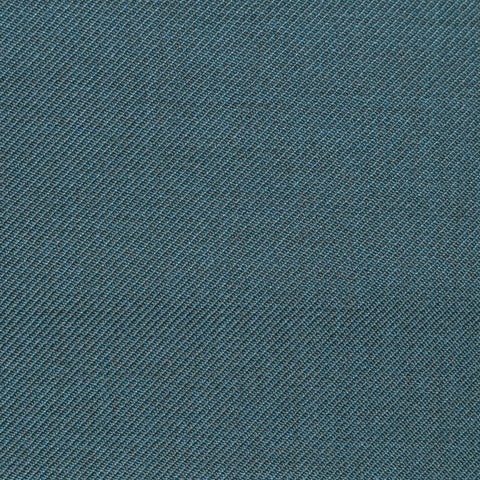 Sage Green Twill Super 100's Wool Blend Suiting