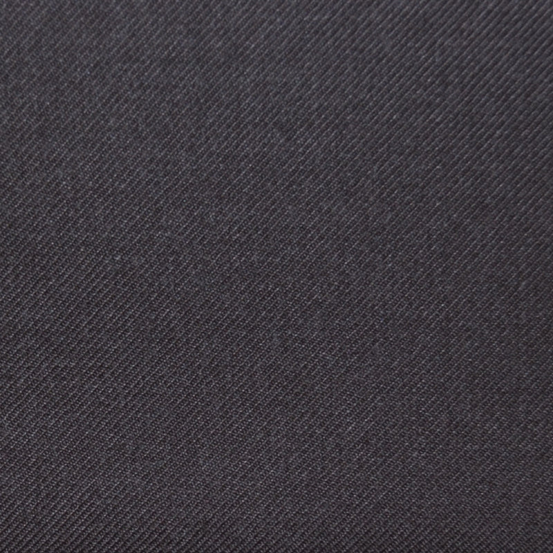 Dark Brown Twill Super 100's Wool Blend Suiting