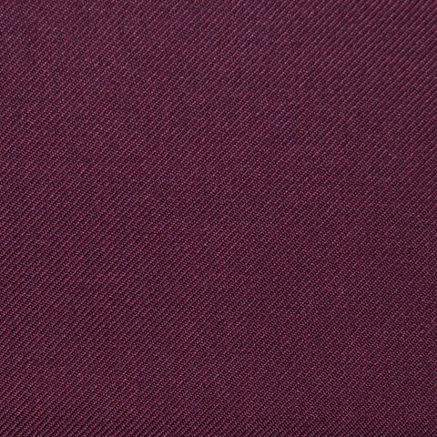 Maroon Twill Super 100's Wool Blend Suiting