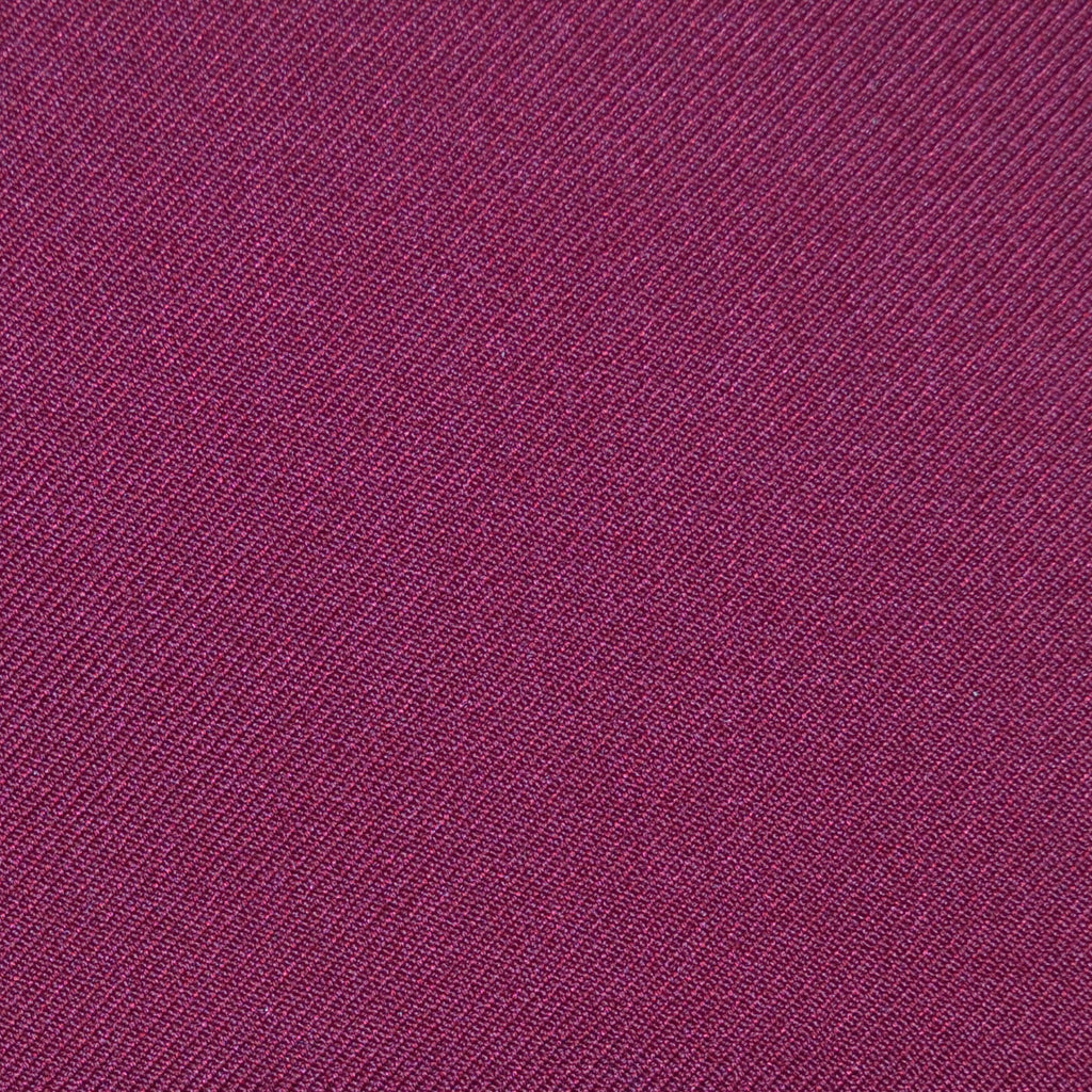 Burgundy Twill Super 100's Wool Blend Suiting