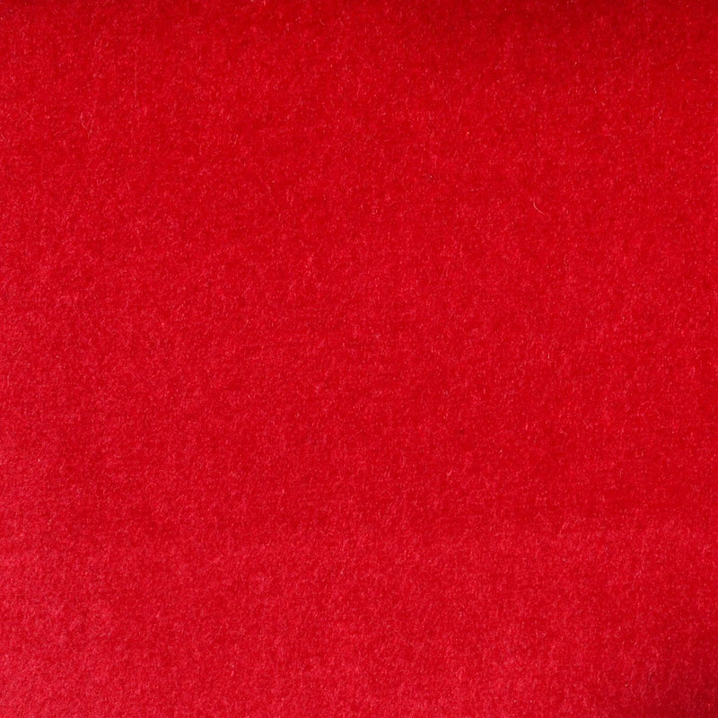 Red Cotton Velvet