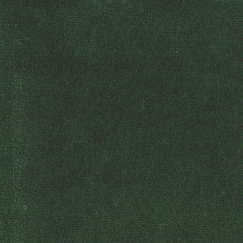 Dark Green Cotton Velvet