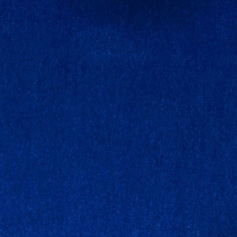 Bright Blue Cotton Velvet