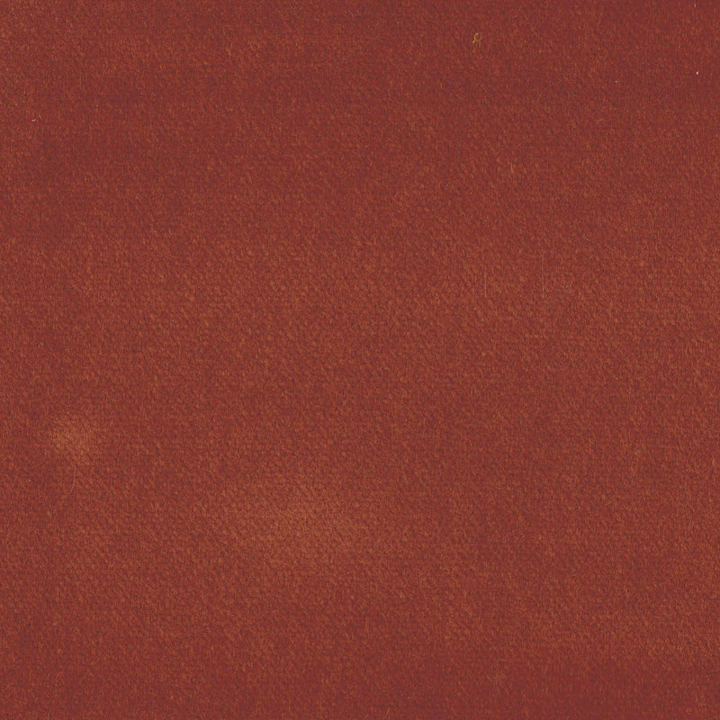 Rust Cotton Velvet