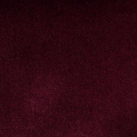 Wine Cotton Velvet