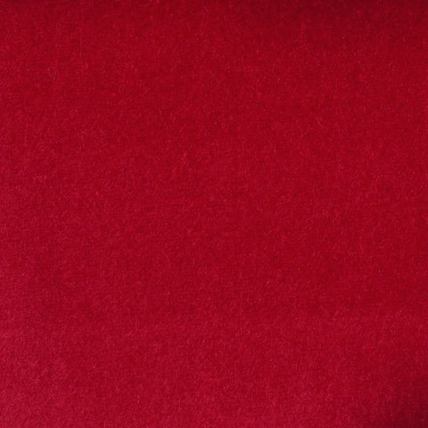 Ruby Red Cotton Velvet