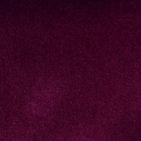Garnet Red Cotton Velvet