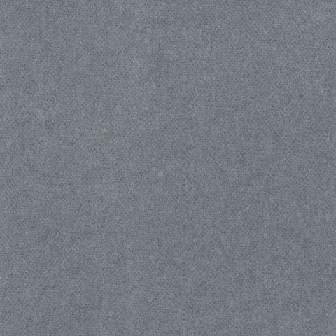 Silver Grey Cotton Velvet