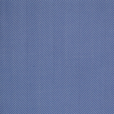 Light Blue Herringbone Cotton Shirting