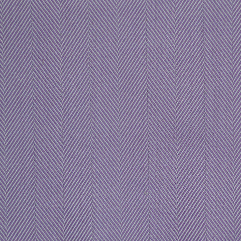 Lilac Herringbone Cotton Shirting