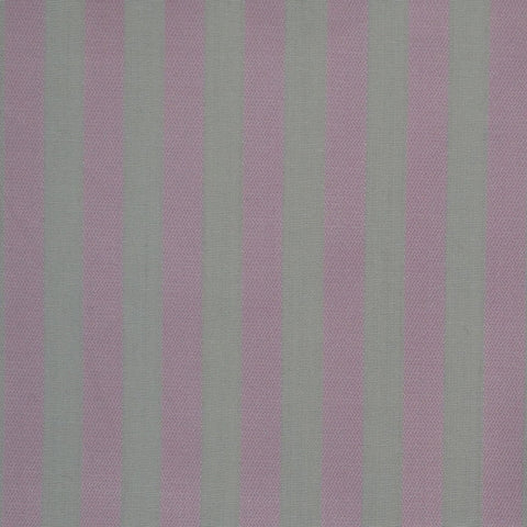 White & Pink Stripe Cotton Shirting