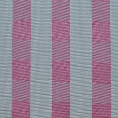 White & Pink Check Cotton Shirting