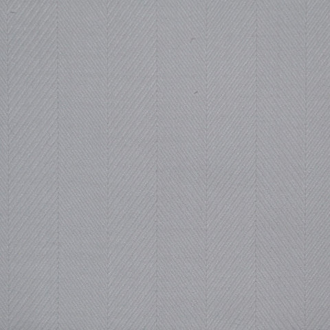 White Herringbone Cotton Shirting