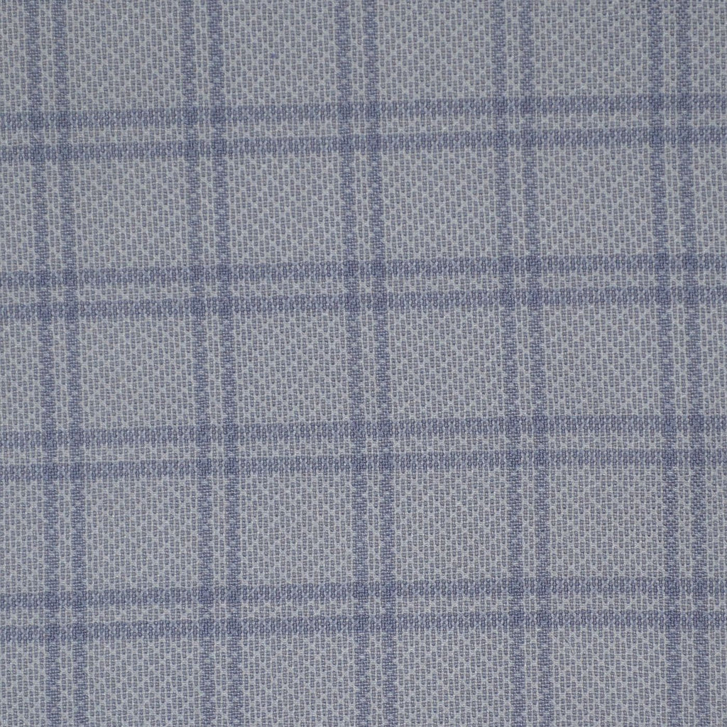 Lilac with Purple Check Cotton Shirting