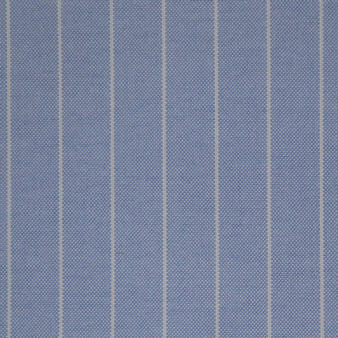 Light Blue Stripe Oxford Cotton Shirting