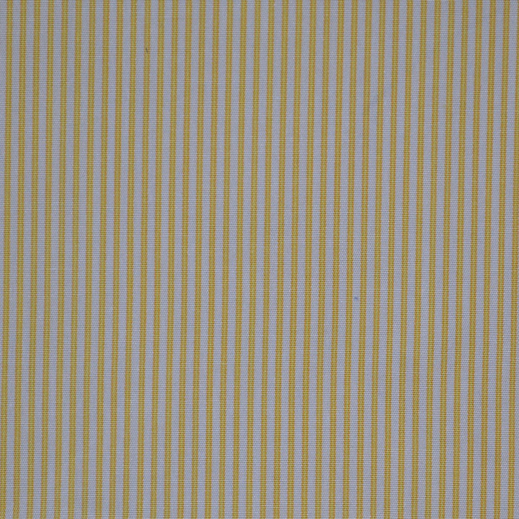 White with Yellow Stripe Cotton Shirting