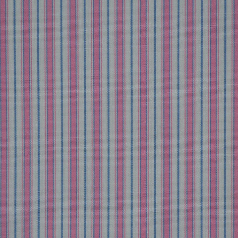 Pink, White & Blue Cotton Shirting