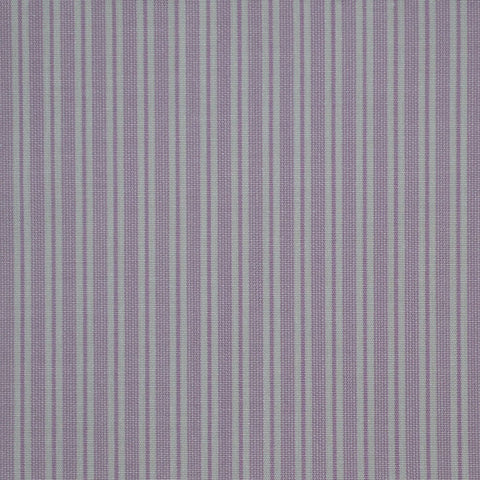 Lilac with White Stripe Cotton Shirting