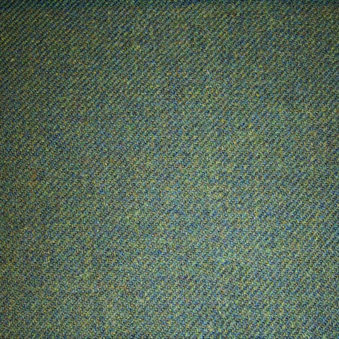 Green & Blue Plain Tweed