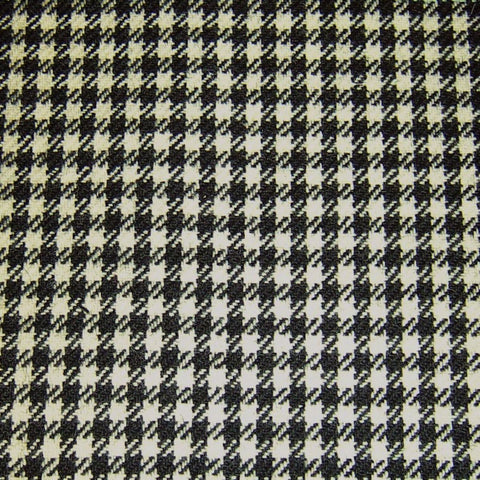 Black & White Dogtooth Tweed