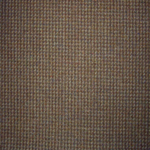 Beige & Brown Small Check Tweed