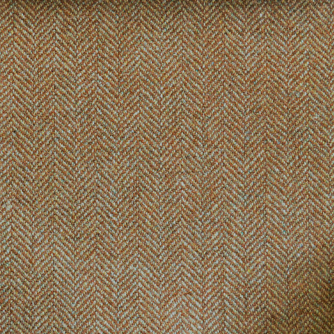 Sand & Brown Herringbone Tweed