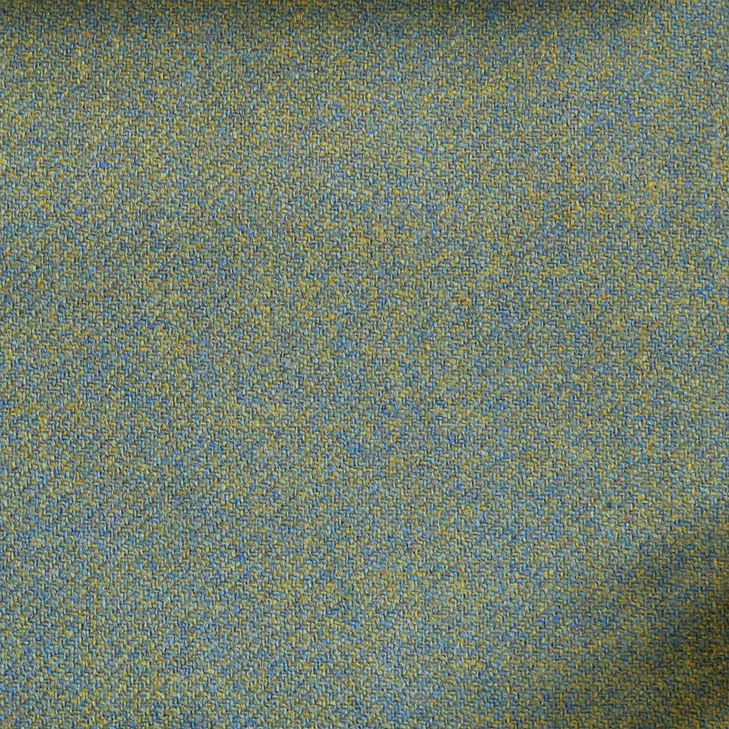 Blue & Green Plain Tweed